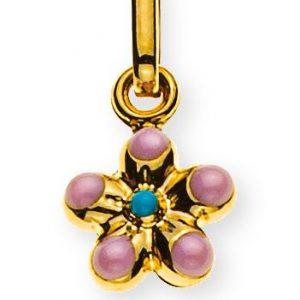 anhaenger-blume-gelbgold-375-rosa-hellblau-emailliert-6mm