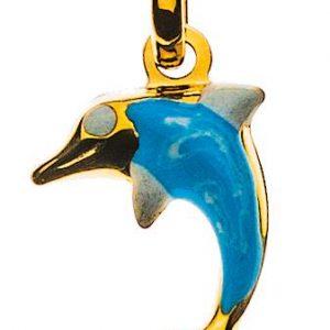 anhaenger-delfin-gelbgold-750-hellblau-weiss-emailliert