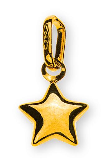 anhaenger-stern-klein-gelbgold-750