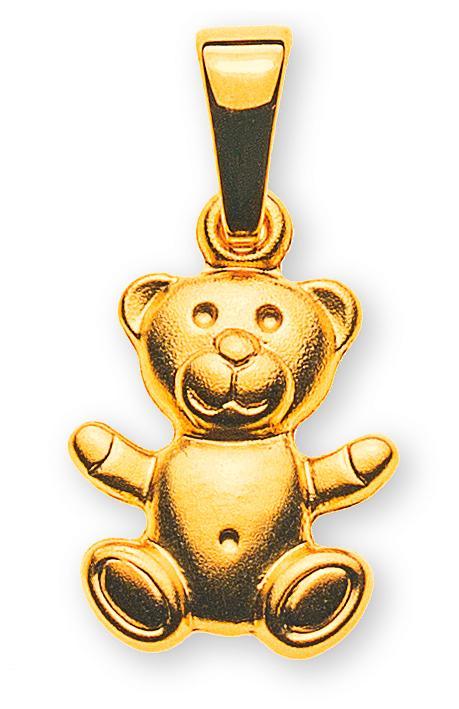 anhaenger-teddybaer-gelbgold-750-gesandelt