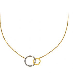 collier-doppelkreis-gelbgold-750-mit-25-brillanten-h-si-0-13ct-45cm