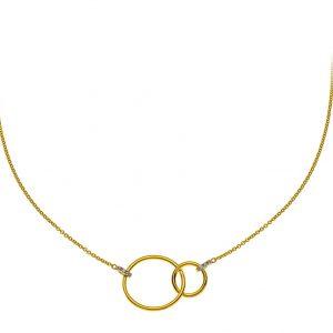 collier-doppelkreis-gelbgold-750-mit-6-brillanten-h-si-0-02ct-45cm