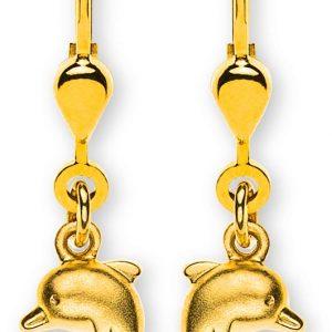 ohrhaenger-delfin-gesandelt-gelbgold-750-mit-brisur