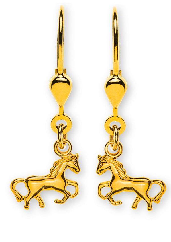 ohrhaenger-pferd-gelbgold-750-mit-brisur