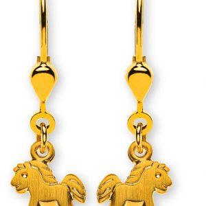 ohrhaenger-pferd-gesandelt-gelbgold-750-mit-brisur