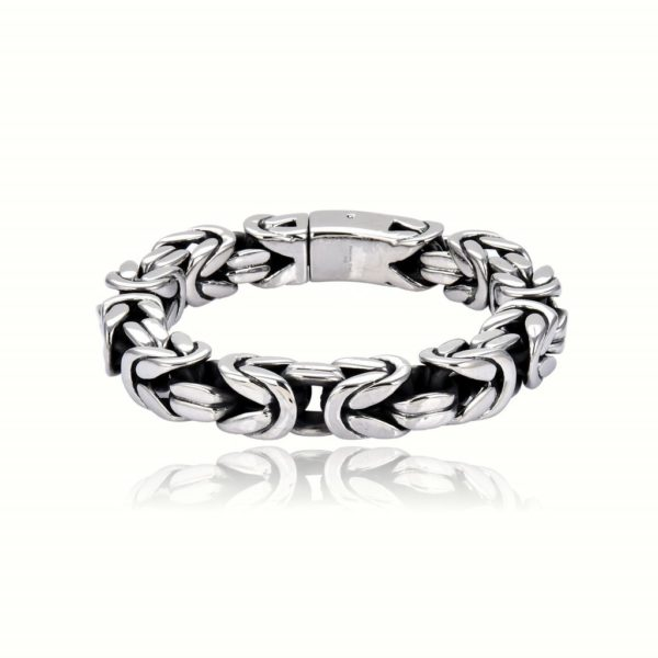 Armband Königskette Klassisch Edelstahl