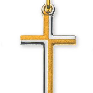 Kreuz Gelbgold 750