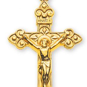 Kreuz Gelbgold 750 mit Christus